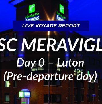 MSC Meraviglia Live - Day 0 Luton
