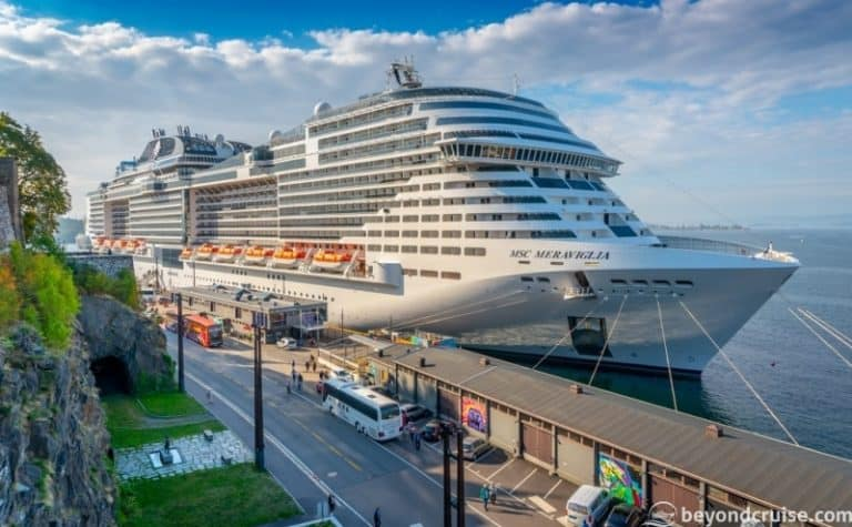 MSC Meraviglia makes Maiden Call in Oslo