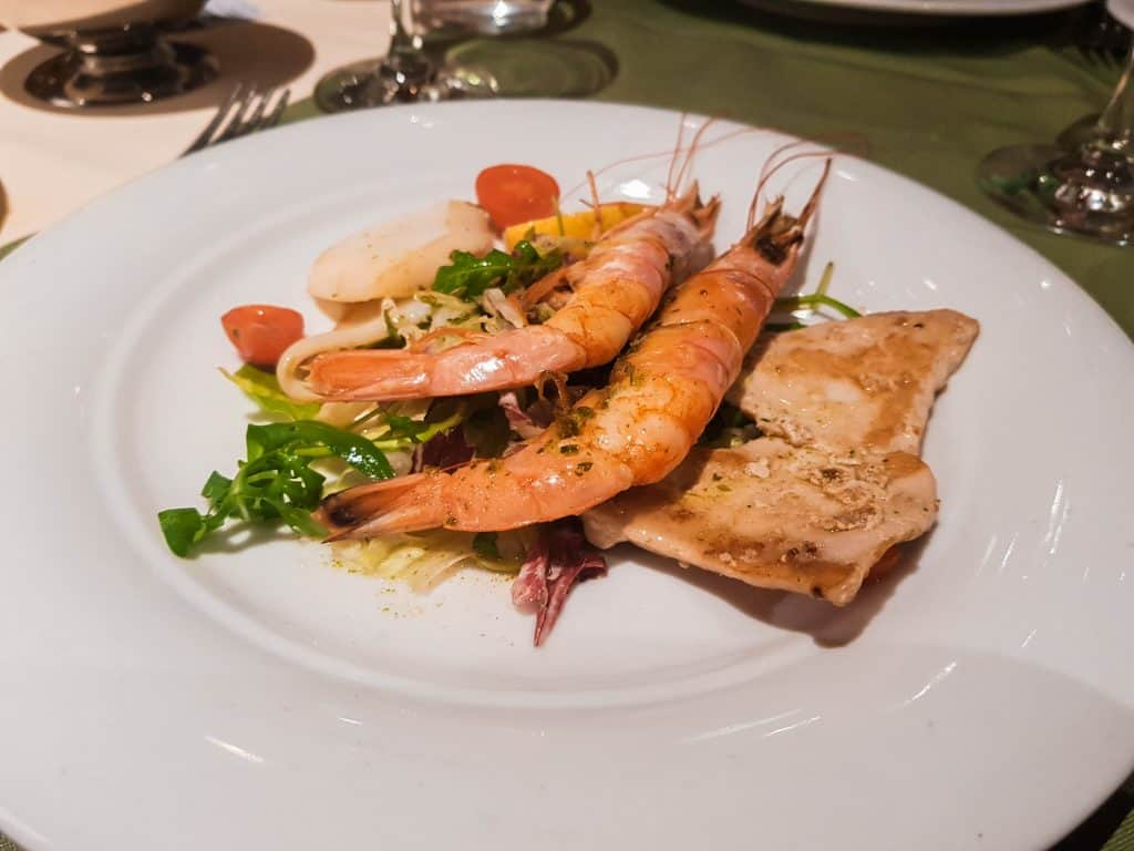 Main Dining Room Dinner – Seafood Platter Main
