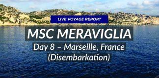 MSC Meraviglia - Live voyage - Marseille!