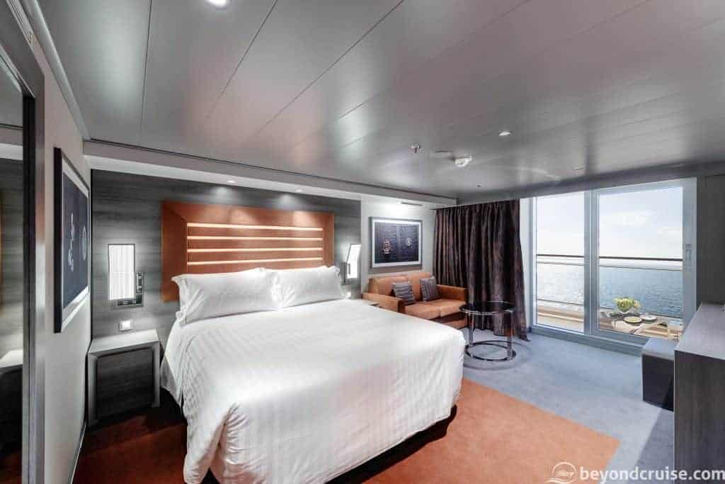 MSC Meraviglia MSC Yacht Club Wellness Deluxe Suite