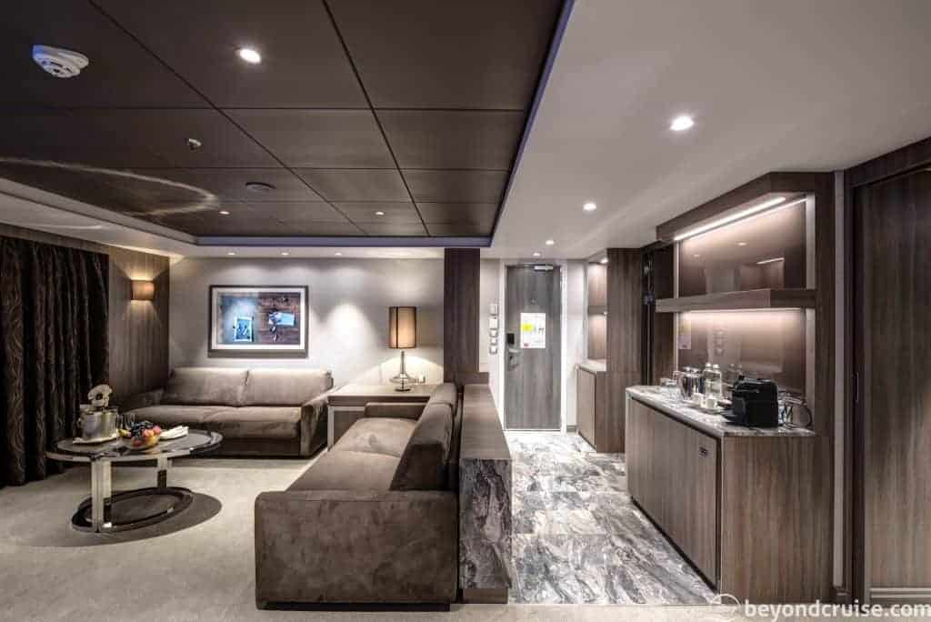 MSC Meraviglia - MSC Yacht Club Royal Suite