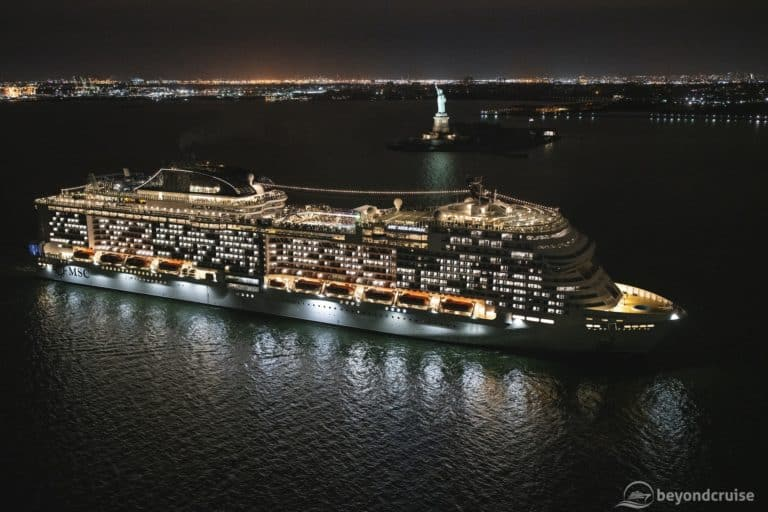 MSC Meraviglia Becomes Biggest Ship to Call in Manhattan