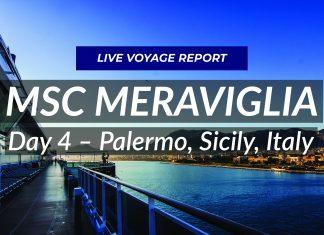 MSC Meraviglia - Live in Palermo