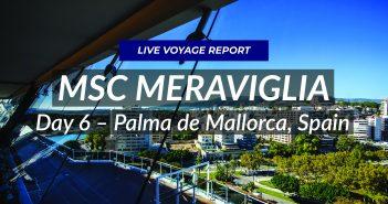 MSC Meraviglia - Live in Palma de Mallorca