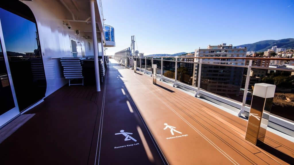 MSC Meraviglia, Walking/ Running Track