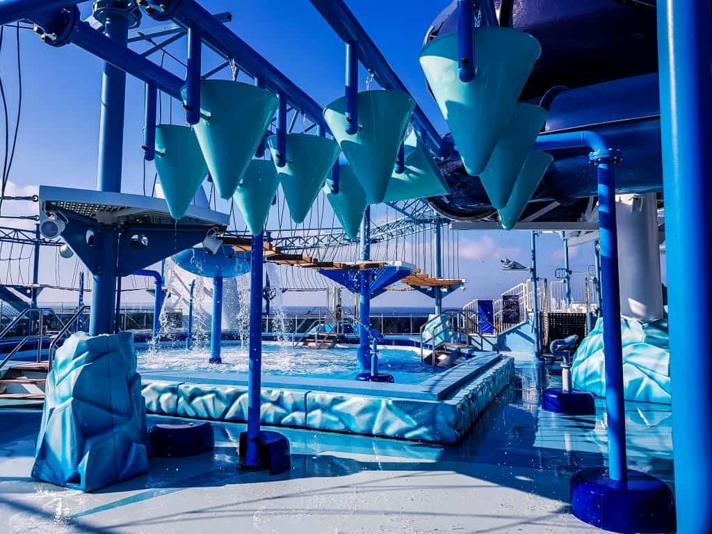 MSC Meraviglia Polar Aquapark Splash Zone