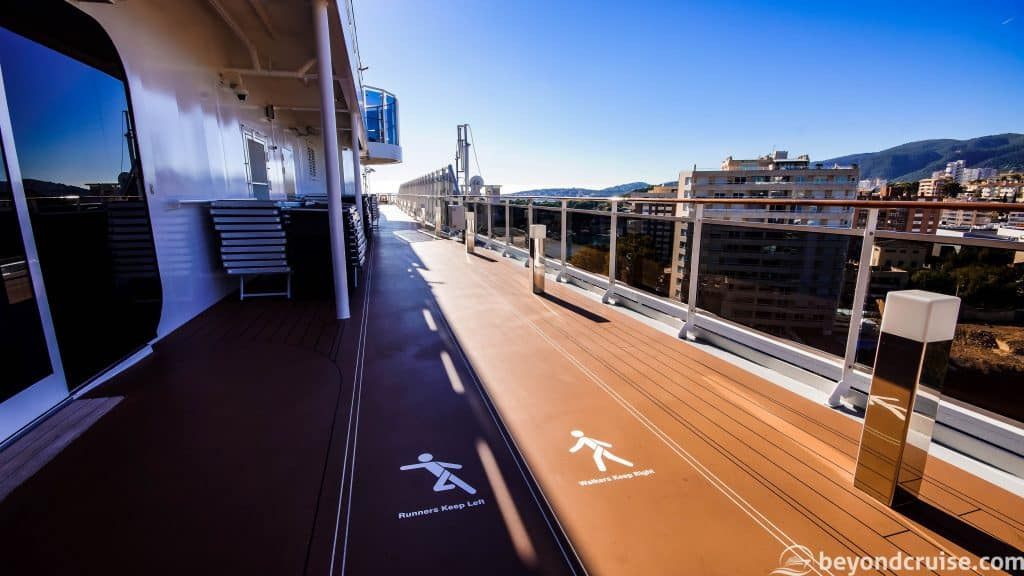 MSC Meraviglia Power Walking / Running track