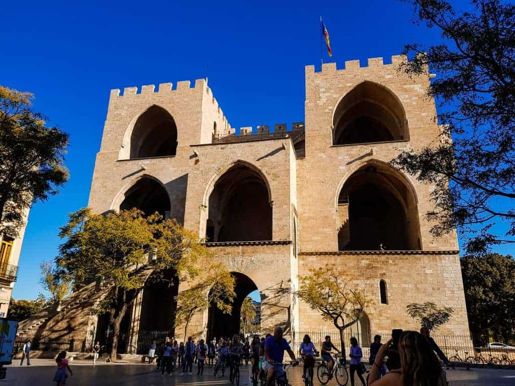Behind Valencia's Ancient City Gates