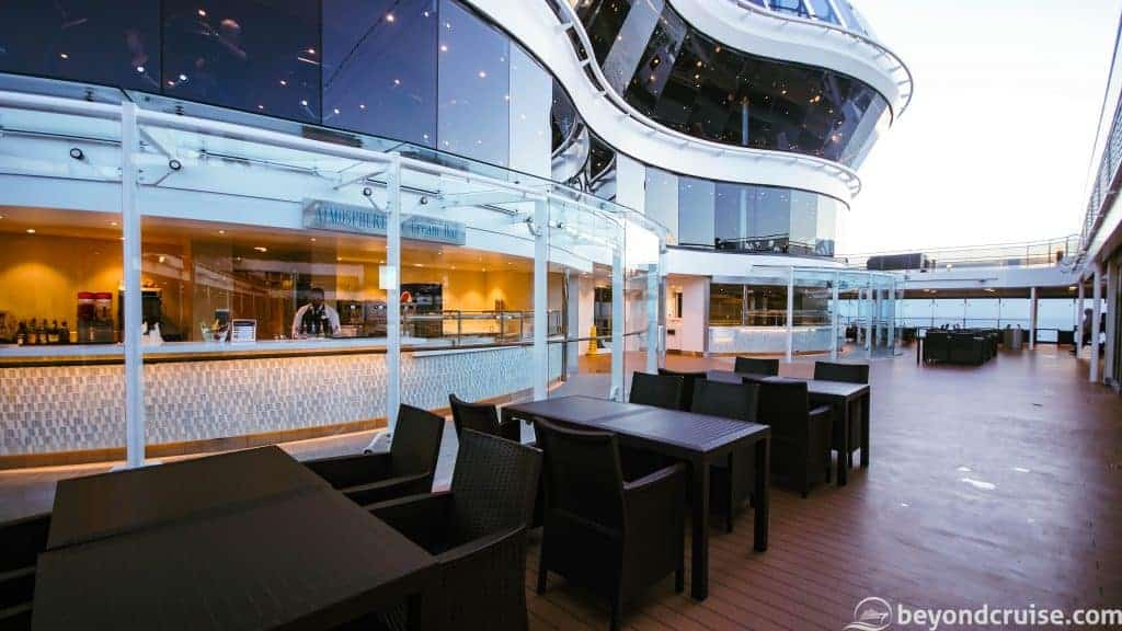 MSC Meraviglia Atmosphere Ice Cream Bar