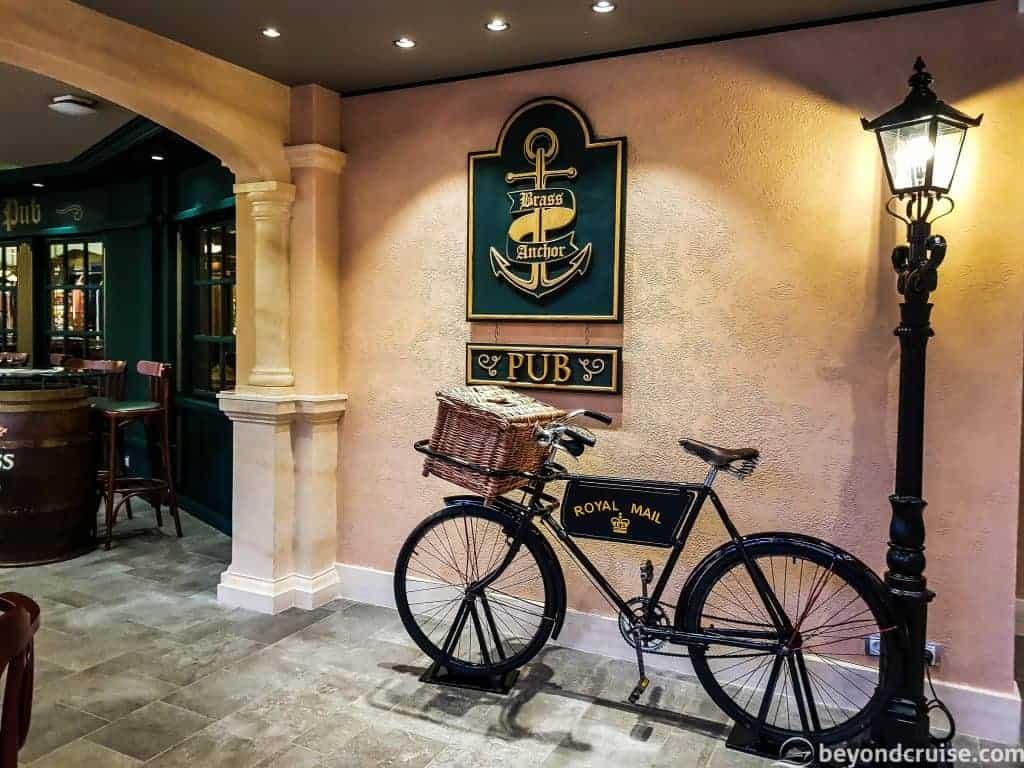 MSC Meraviglia Brass Anchor Pub
