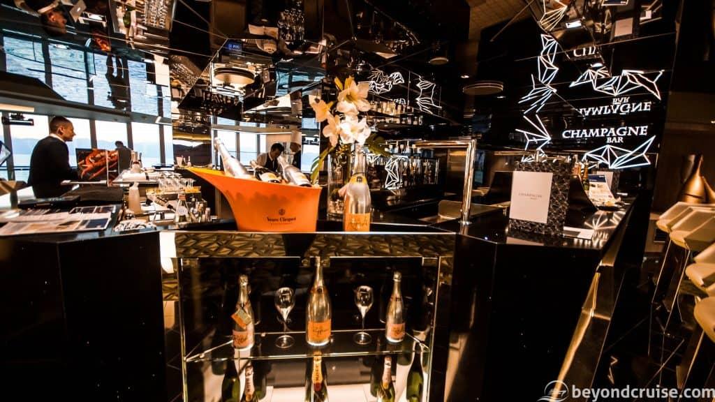 MSC Meraviglia Champagne Bar