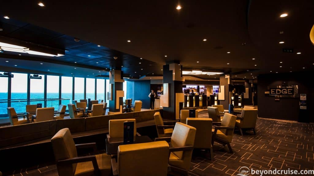 MSC Meraviglia EDGE Cocktail Bar