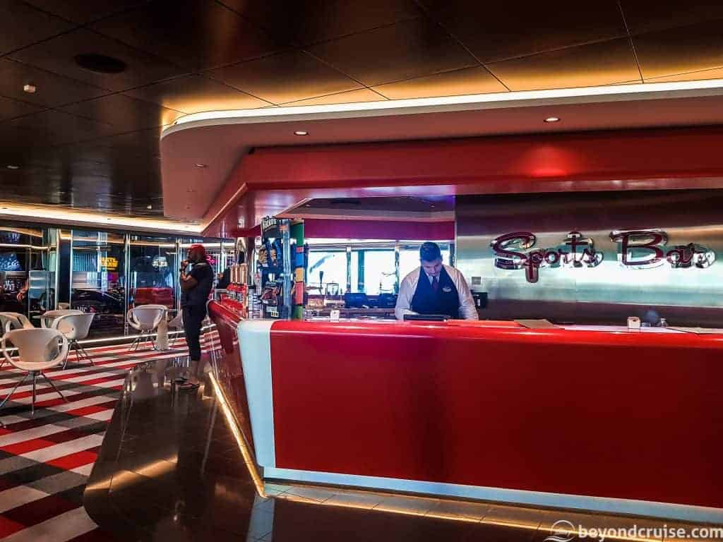 MSC Meraviglia Sports Bar