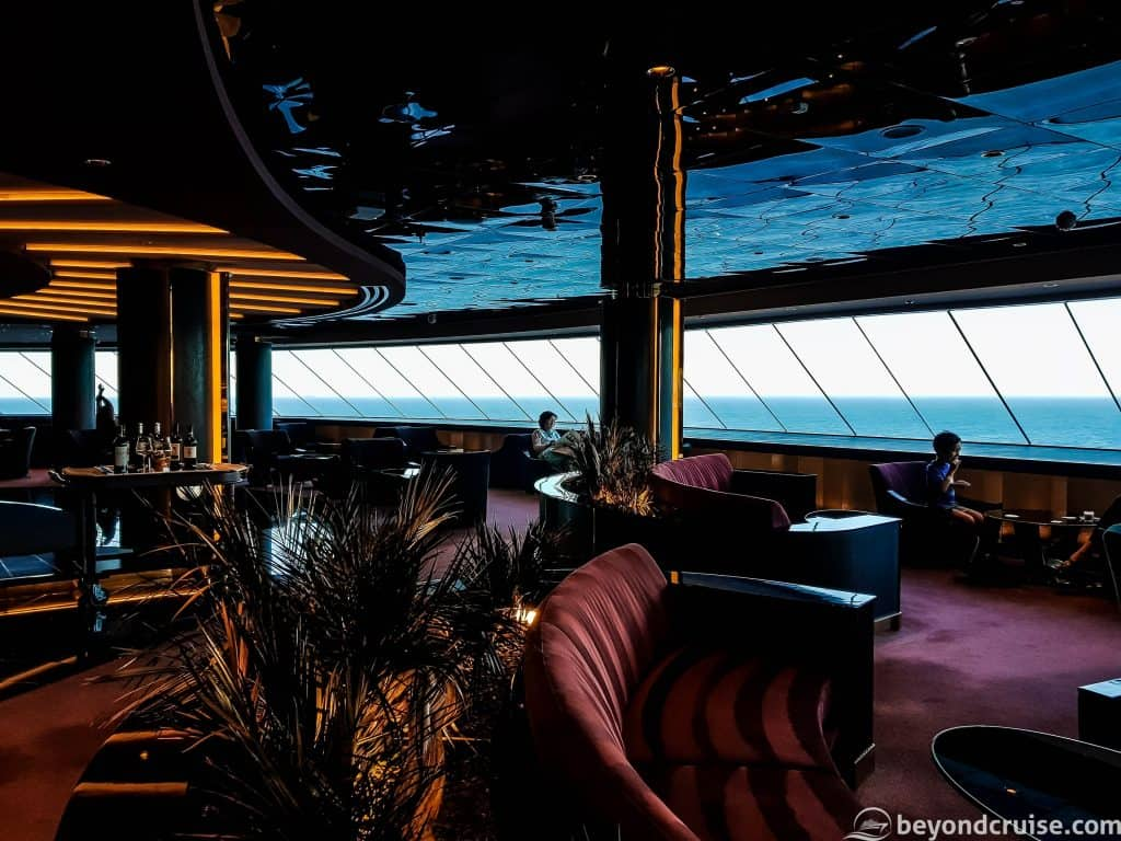 MSC Meraviglia MSC Yacht Club Top Sail Lounge