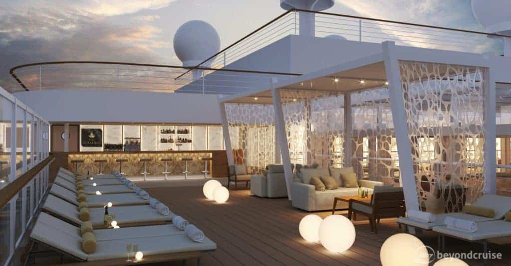 MSC Seashore Aurea Bar preview