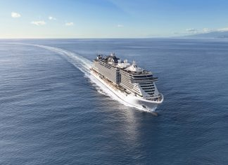 MSC Seaview at sea