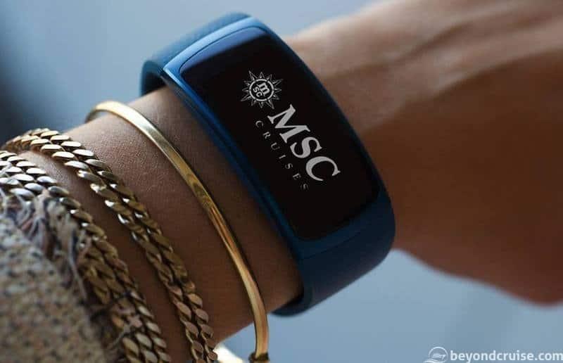 MSC Seaview NFC wristband