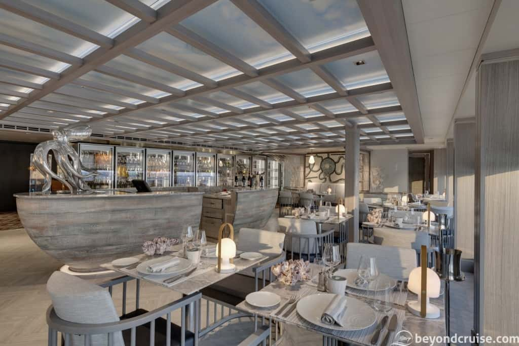 MSC Seaview Ocean Cay restaurant