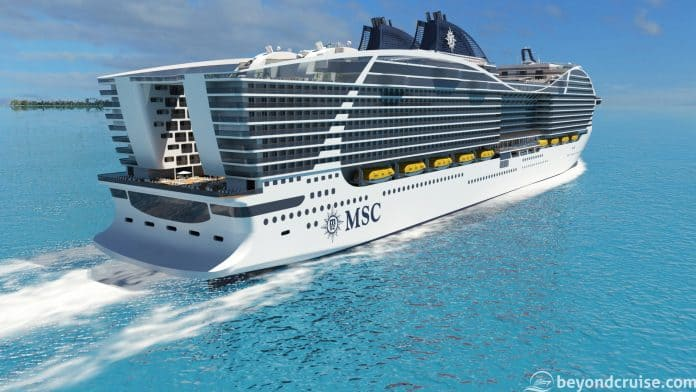 MSC Cruises World-class preview render