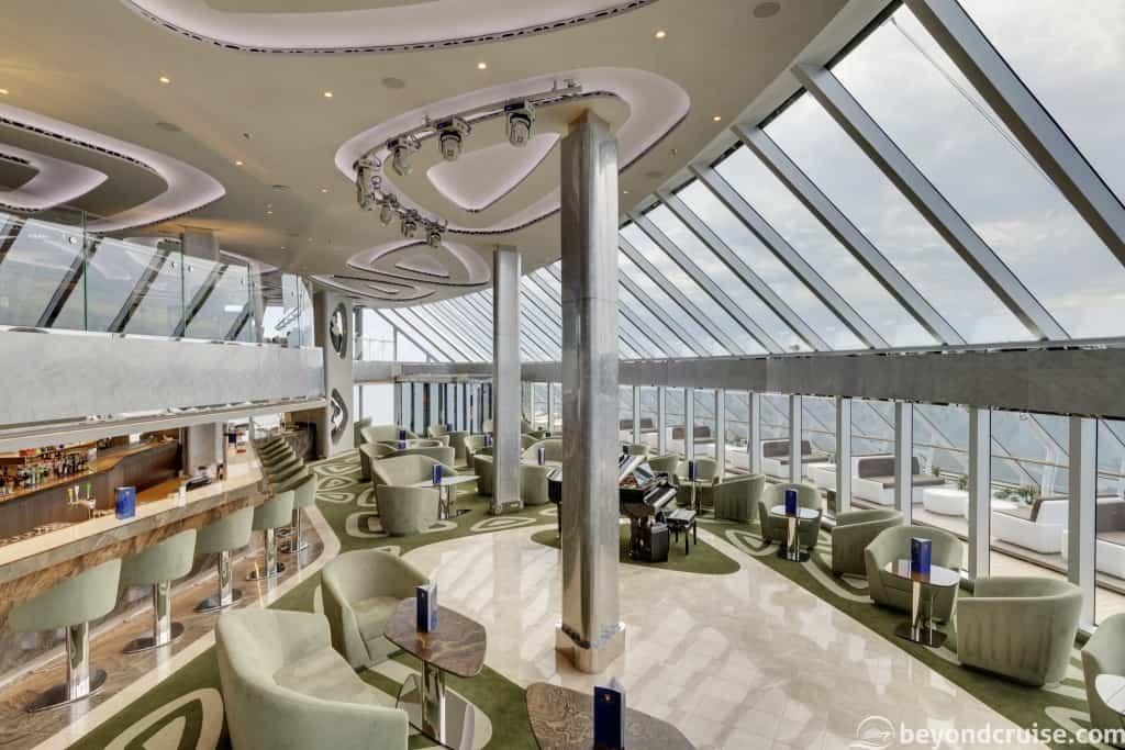 MSC Seaview Yacht Club Top Sail Lounge