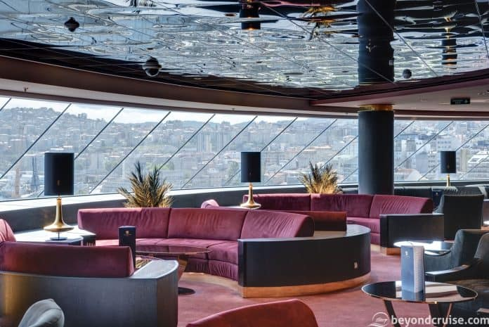 MSC Meraviglia, MSC Yacht Club - Top Sail Lounge