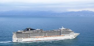 MSC Cruises - MSC Preziosa at sea