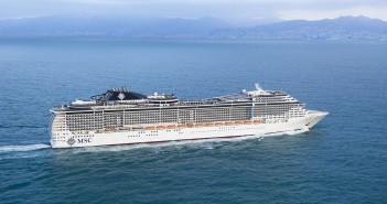 MSC Cruises - MSC Preziosa at sea