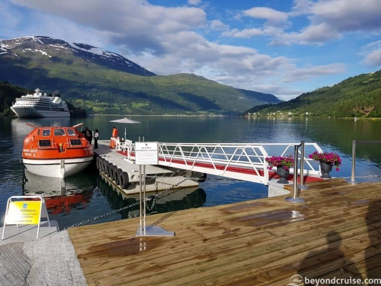 Norwegian Port of Olden Gets New Tender Jetty