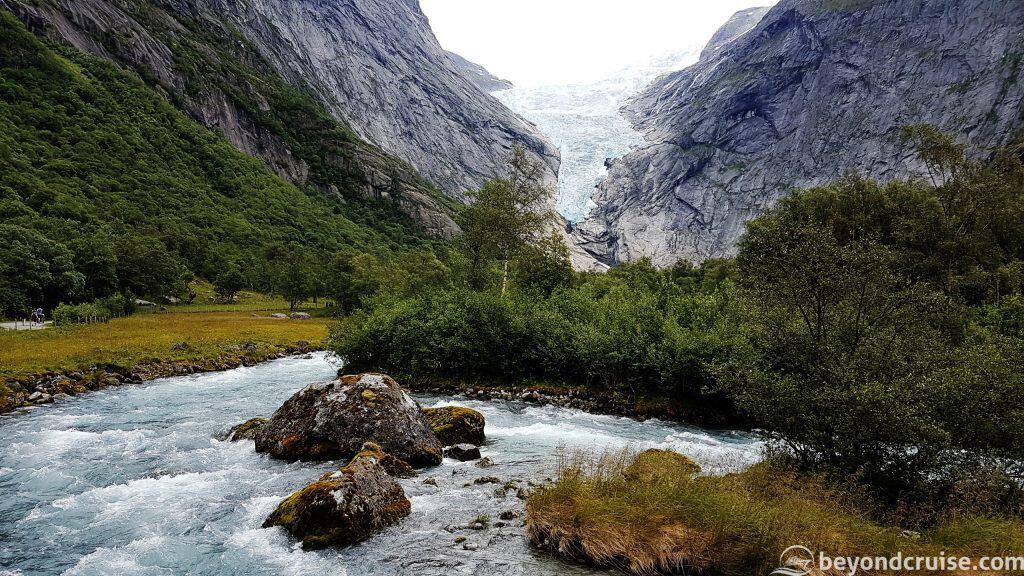 Briksdal Glacier