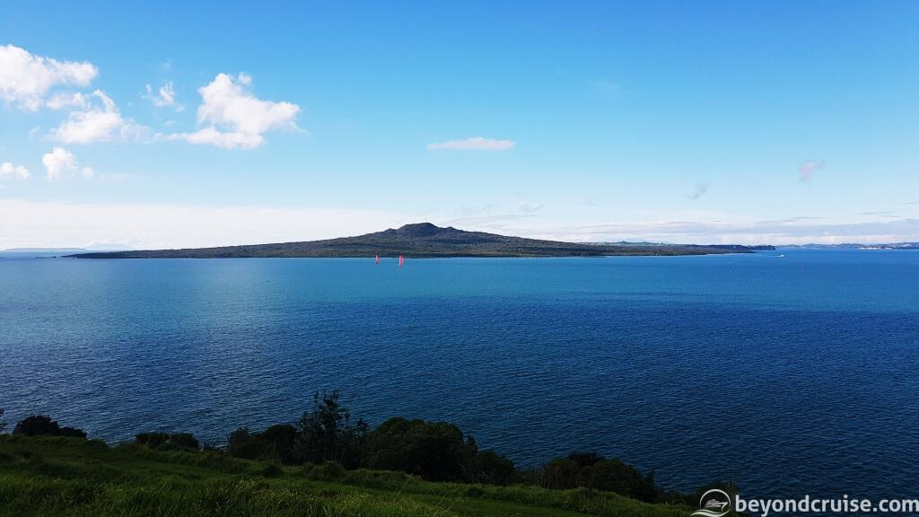 View of Rangitoto from North Head