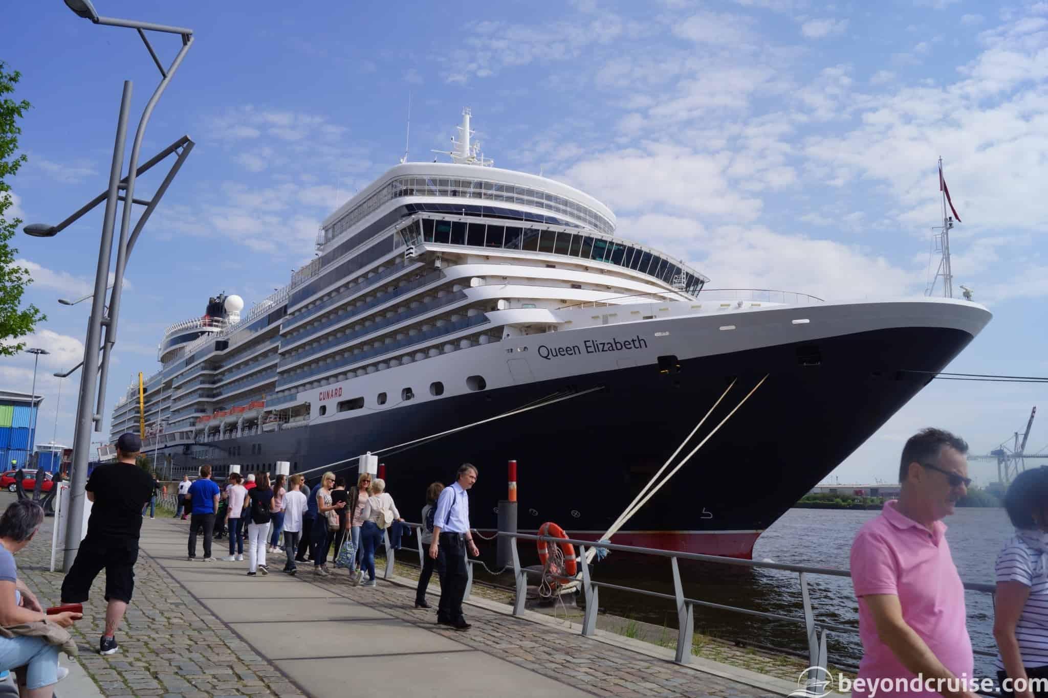 Port of Hamburg 829th Anniversary - Queen Elizabeth at Hafencity