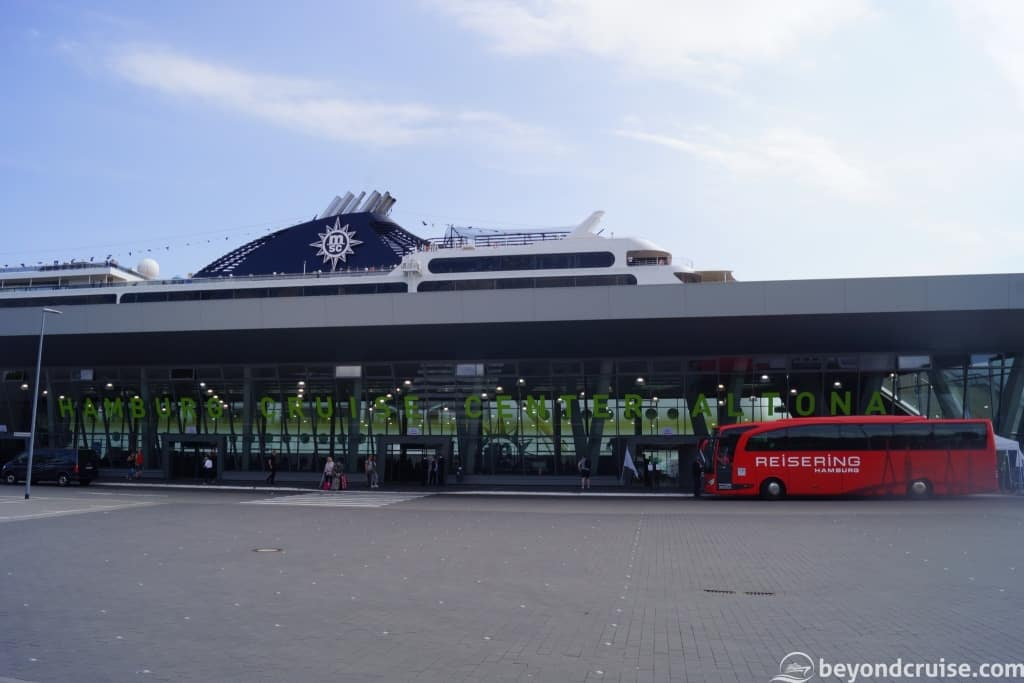 MSC Magnifica at Altona Cruise Center, Hamburg