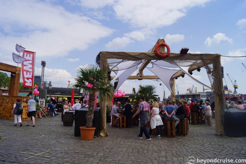 Port of Hamburg 829th Anniversary popup bars