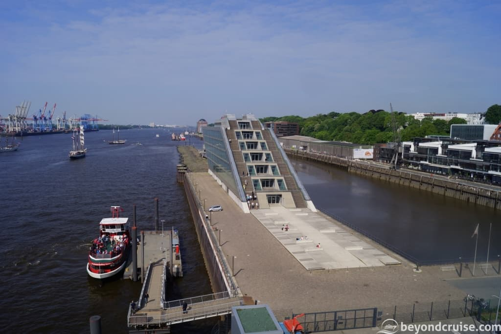 Port of Hamburg Altona Cruise Center viewing area