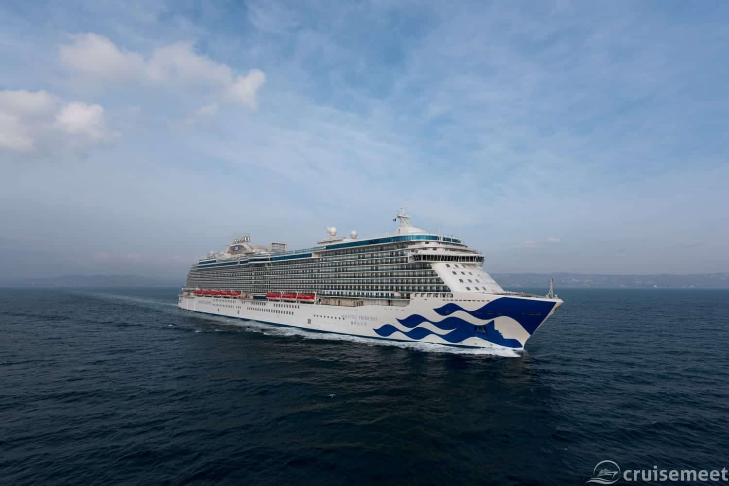 Majestic Princess at sea