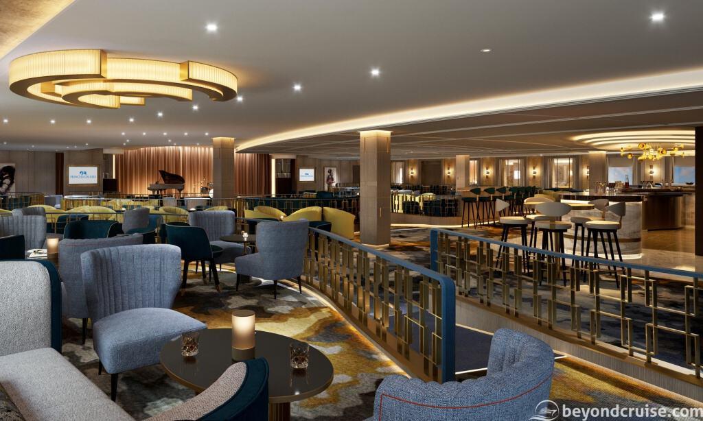Vista Lounge, Sky Princess