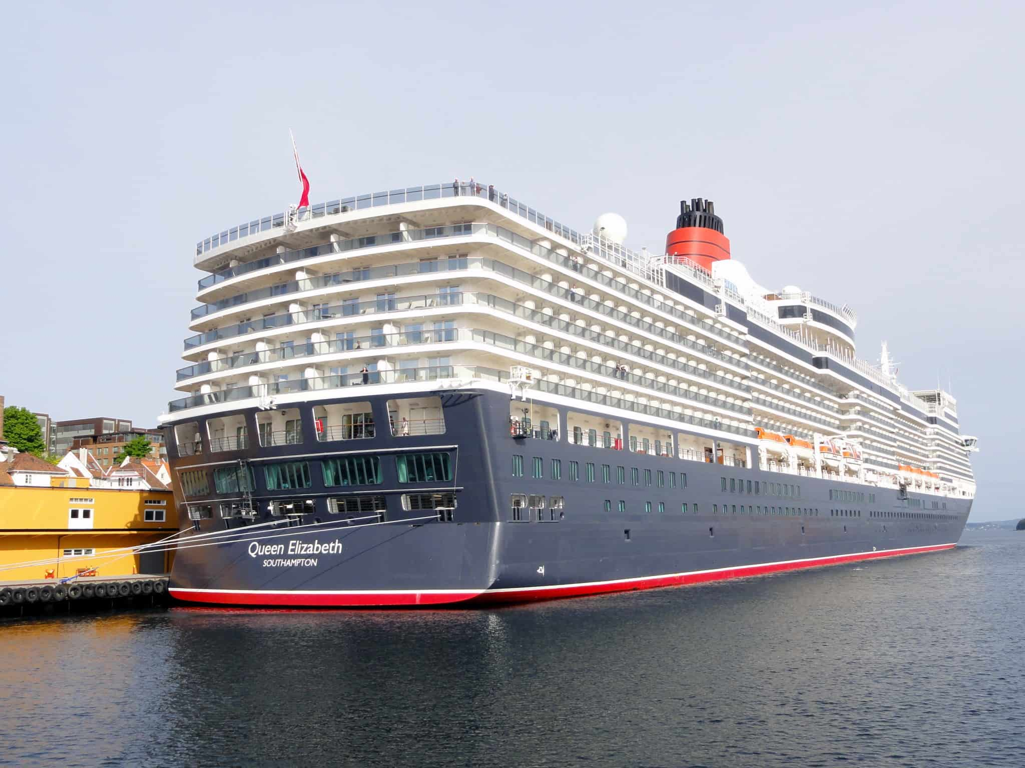Cunard World Voyage 2018 Queen Elizabeth Q802h Itinerary