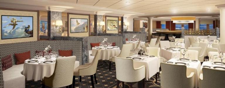Queen Mary 2 Remastered: Verandah Restaurant